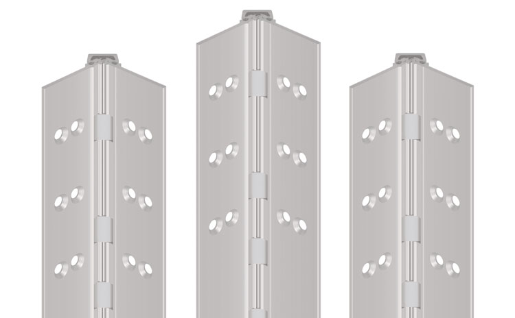 Aluton | Continuous Geared Hinges